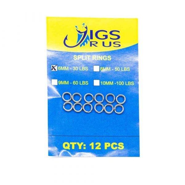JRU-SPR-Stainless Steel Split Ring